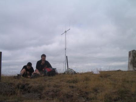 Activating on the summit of Black Hill GM/SS-253