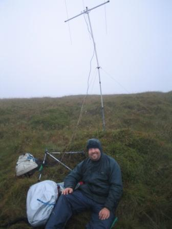Radio activation from Dodd Fell Hill