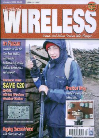 Even made the front cover of Practical Wireless!