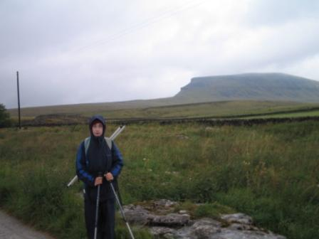 Contemplating Pen-y-ghent