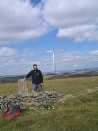 Summit of Sell Moor Hill GM/SS-211