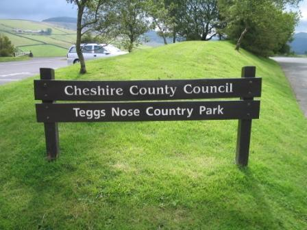 Entrance to Teggs Nose Country Park