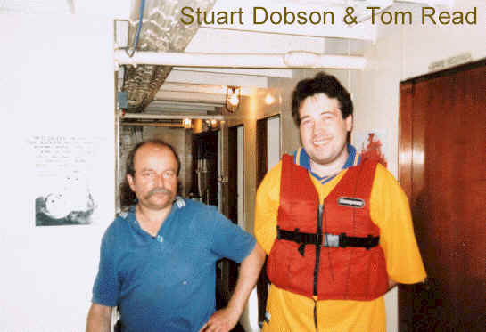 Stuart Dobson & Tom Read